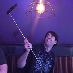 Me selfie stick